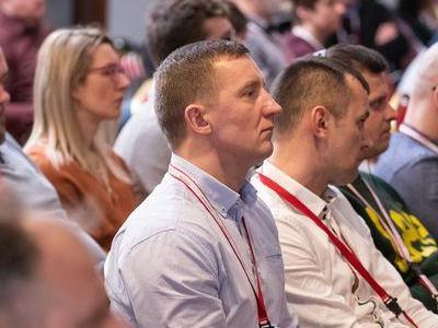 zasłuchani uczestnicy Międzynarodowej Konferencji Stopmastitis
