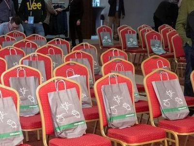 sala przygotowana na Międzynarodowa Konferencje Stopmastitis